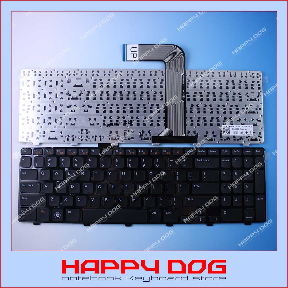Brand New Black US Laptop Keyboard For Dell Inspiron 15R N5110 NSK-DY0SW 04DFCJ(China (Mainland))