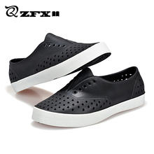 2016 Summer Men and Women Native Jefferson Fashion Lovers Hole Shoe Brand Flat Sandals Casual Native Shoes Beach Slippers 36-45(China (Mainland))