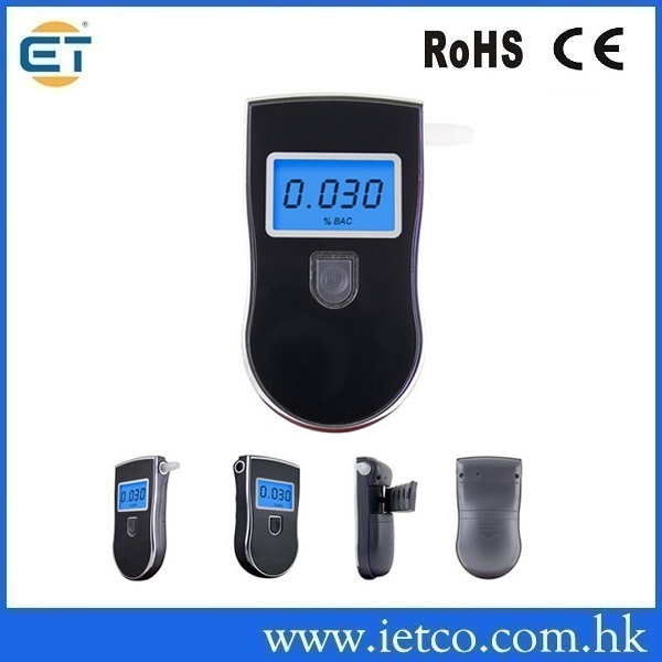 Gadgets Meter Prefessional Police Digital Breath Alcohol Tester battery the Breathalyzer(China (Mainland))