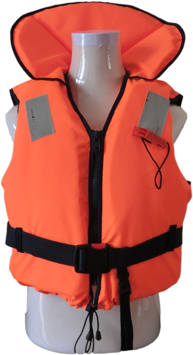 New arrival professional life vest whistle tape zipper uvioresistant fabric(China (Mainland))