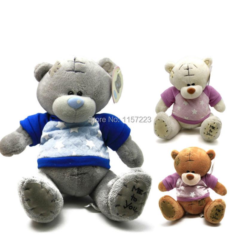 1pcs Cartoon Plush Big size Teddy Bear Toys Jumbo Me Stuffed Dolls Birthday To You Bears Valentines for Baby&Kids Christmas Gift(China (Mainland))