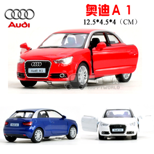 soft world AUDI a1 alloy car model WARRIOR cars