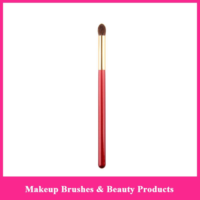 Whloesale High Quality Makeup Brushes Pony Hair Point Blending Brush Professional Soft Eyeshadow Brush(China (Mainland))