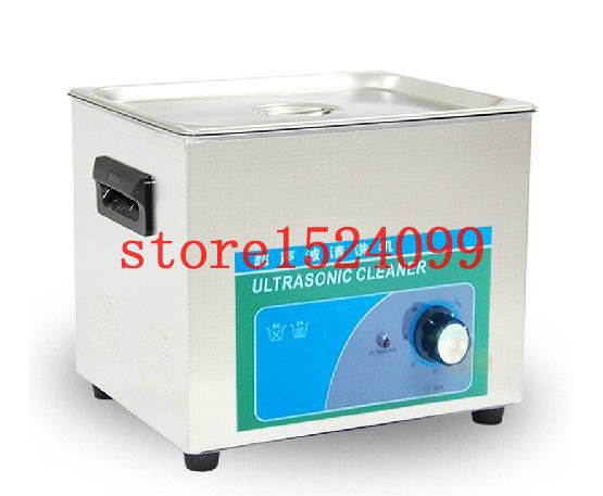 Ultrasonic cleaner 10L Ultrasonic cleaning machine Ultrasonic washing machine for small electronic products Industrial cleaning(China (Mainland))
