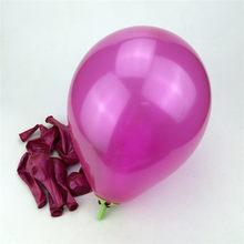 10 יחידות יום הולדת בלוני 10 אינץ 1.5 גרם לטקס הליום בלון עיבוי פרל מסיבת כדור ילד ילד צעצוע חתונת ballons(China)
