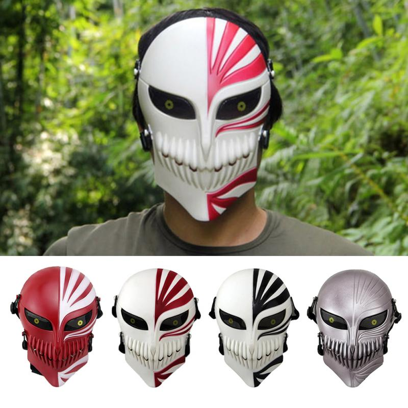 Plastic Full Face Mask Simulation CS Games Mask War Game Anti-Crash Protection Halloween Party Mask(China (Mainland))