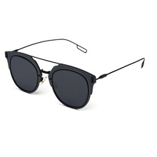Celebrity Style 2016 New Trend Fashion Metal Sunglasses With UV400 Lens And Special Slender Metal Temple