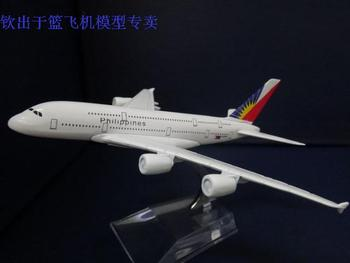 1:400 16cm Metal Airplane Plane Model Philippines Airbus A380 Airline Aircraft Model Figure Diecasts Souvenir Toy Vehicles gifts
