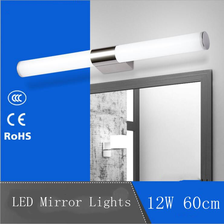 12W LED Mirror Wall Lights Bathroom Wall Mount Lamp AC220V/110V Warm White/Cool White Guaranteed 100% High Quality(China (Mainland))