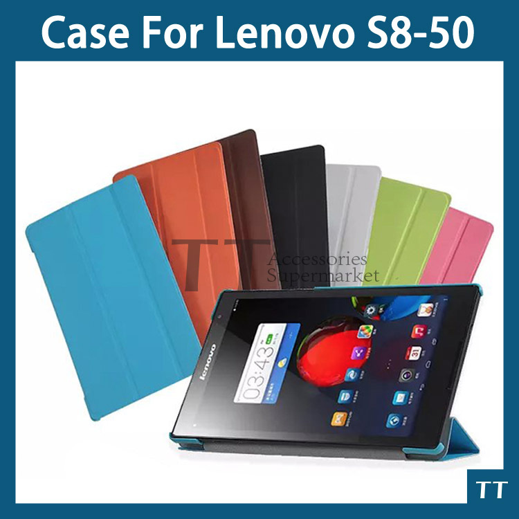 Newest case for Lenovo S8 50 PU leather cover case for Lenovo Tab S8-50 8 inch Tablet + screen protector <br><br>Aliexpress