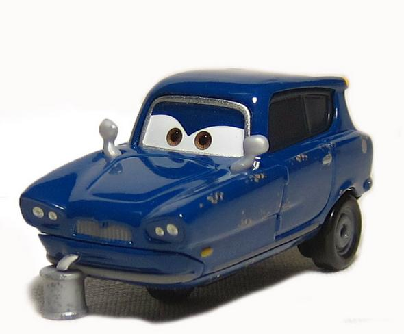 Pixar Cars Tomber Blue Reliant Metal Diecast Toy Car 1:55 Diecast Models Vehicles Kids Toys Car Toys For Children(China (Mainland))