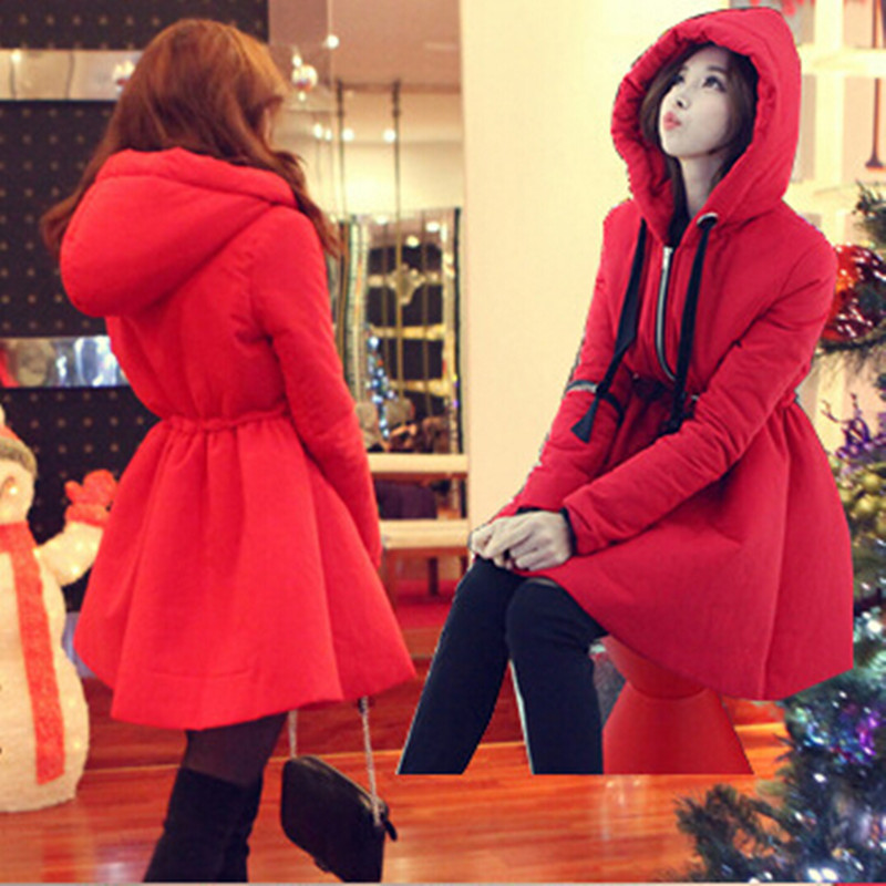 2015 Winter Jacket Women Long Winter Coat thick padded Cotton Jacket women's feather Down jacket casaco feminino A1268(China (Mainland))