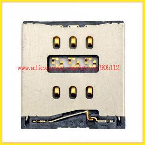 Sim Card Connector Reader Tray Socket Nano SIM Slot iPhone 5 5G Replacement Spare Parts