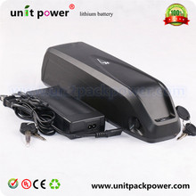 Free shipping and duty Samsung battery 36v 13ah lithium battery for electric bikes 36v new bottle battery pack with free charger(China (Mainland))