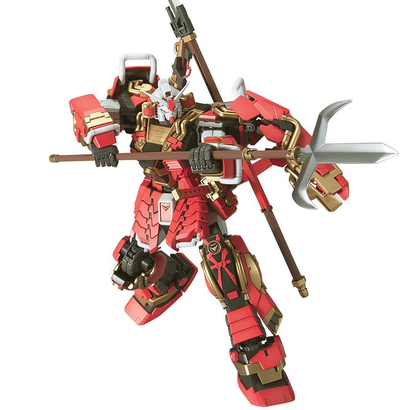 Gaogao 1/100 True dynasty warriors Gundam Shin Musha model Puzzle assembled Robot boy Anime toy gift Arts Furnishing articles()