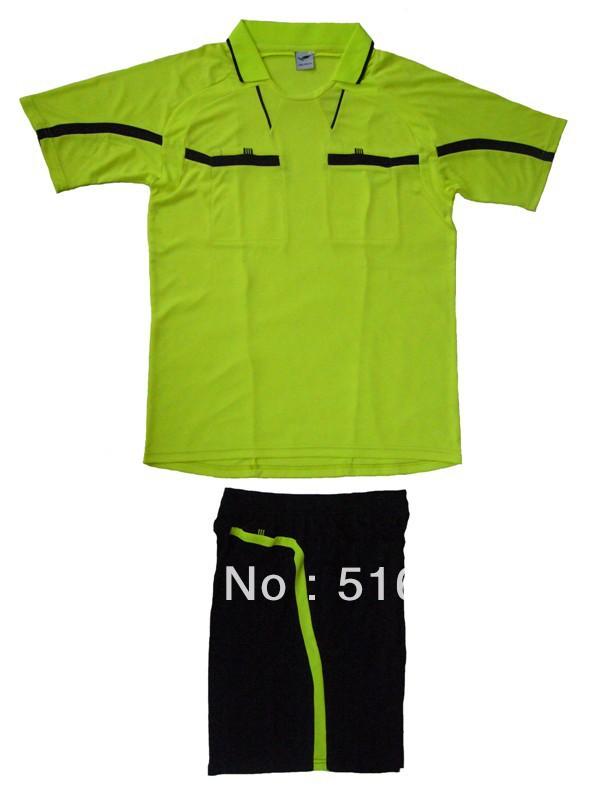 100% Polyester 2013 14 Free shipping Rferee jerseys referee uniforms referee clothes referee Uniforms kits Full sets(China (Mainland))