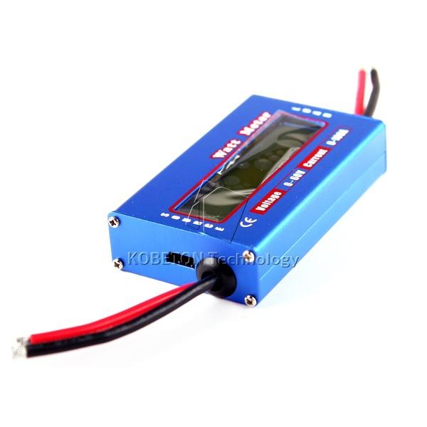 2015 Digital 60V 100A Balance Voltage RC Battery Power Analyzer Watt Meter Wattage Tester Amps Servo