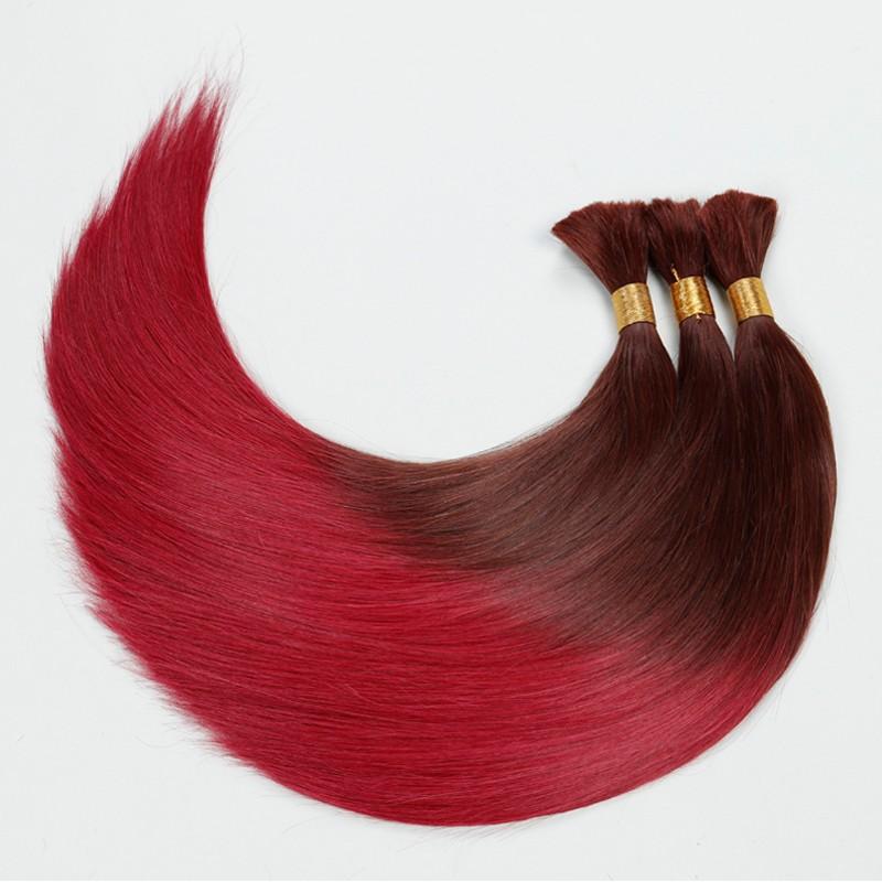 Brazilian High Quality 10A Virgin Hair Straight Bulk Hair 4pcs/Lot Girls Braiding Hair 100g/Pcs Crochet Braids Free Shipping