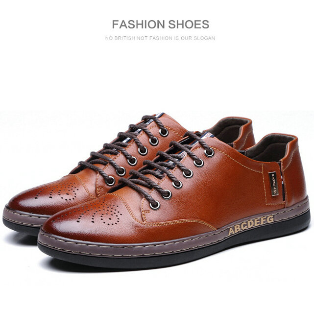 2014 new fashion genuine leather casual oxford shoes for