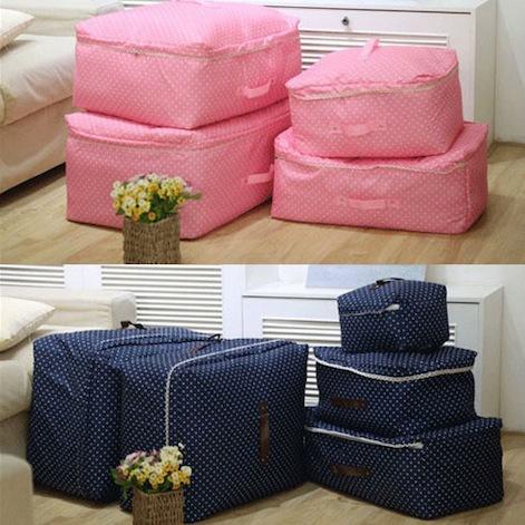 Free Shipping Storage Clothes Bag Luggage Case Bag Suitcase Travel Underwear Organizer(China (Mainland))