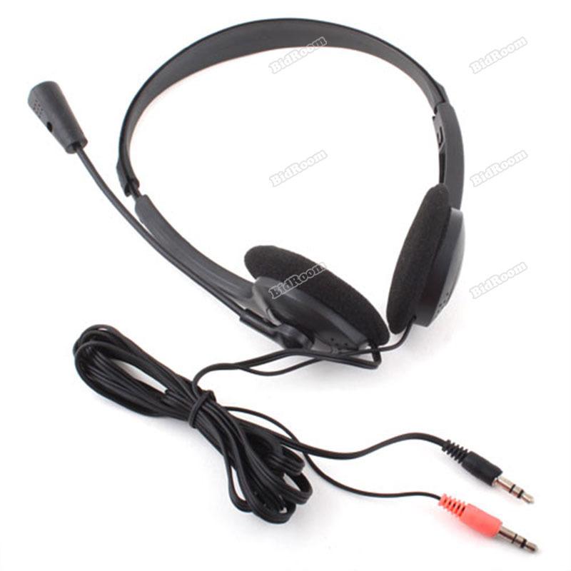 ChicFirm Rising stars Earphone Headphone w Microphone MIC VOIP Headset Skype A wise choice(China (Mainland))