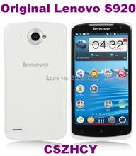 3pcs/lot Original Lenovo S920 MT6589 Quad Core 5.3 IPS Smart Cell phone Free shinpping