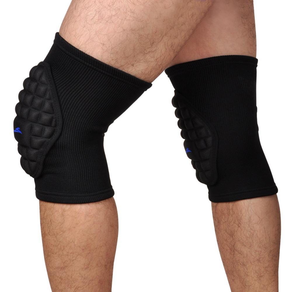 Sponge Knee Pads Crashproof Padded Knee Sleeve Protective Compression Wear Dance Football Basketball Leg Knee Brace Support(China (Mainland))