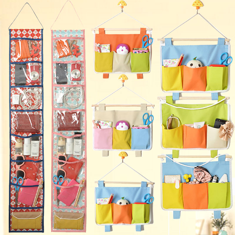 Covenient Pink Kitchen Storage 8 Layers Hanging Rack On Wall Bag Organizer Useful Container For Household Free Shipping In Stock(China (Mainland))