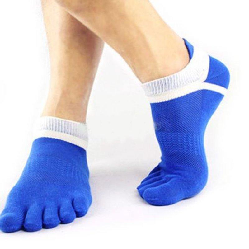1Pair Newest Men Socks Boys Cotton Finger Breathable Five Toe Socks Sports Pure Sock(China (Mainland))
