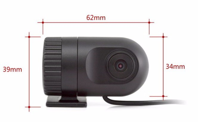 Budget Mini 1080P Full HD dashcam met WDR en G-sensor
