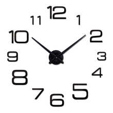 2016 New Wall Clock 3d Acrylic Mirror Clocks Reloj De Pared Quartz Watch Horloge Home Living Room Modern Diy Stickers - Lily DIY Trading Co., Ltd. store