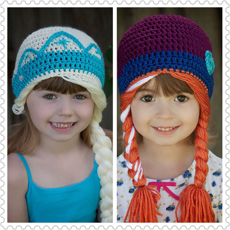 New Crochet Baby Hats Knitted Toddler Winter Beanie Hats Crochet Eaeflaps Beanie for Winter 1pc Free Shipping MZS-14067(China (Mainland))