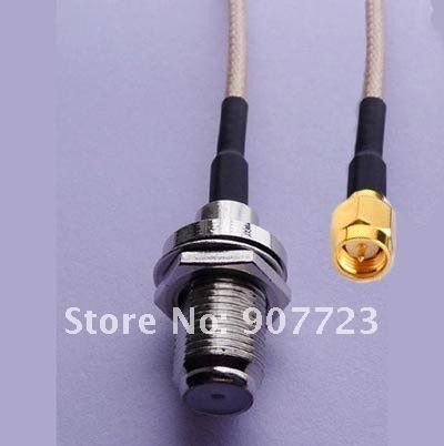 10pcs SMA male to F female bulkhead RG316 8 20CM RF Pigtail Jumper Cable<br><br>Aliexpress