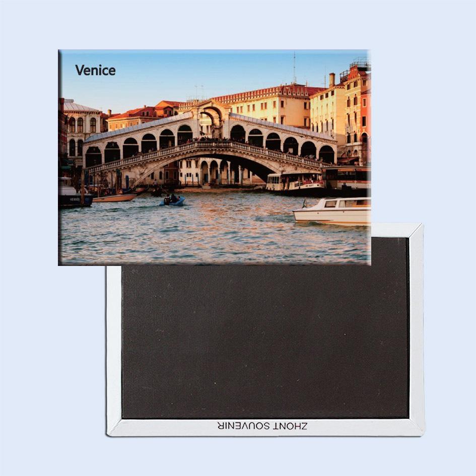 Souvenir Magnets FREE Shipping,Italy Venice City Sence Toursit Metal Fridge Magnet SFM5185(China (Mainland))