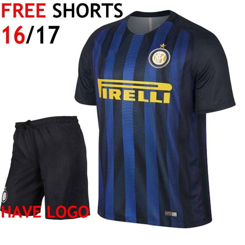 New Italia uniforme black blue uniform kits camisa 2016 2017 thailand shirt 16 17 camisetas de futbol maillot de foot(China (Mainland))
