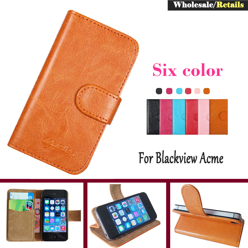OYO!Blackview Acme Case,6 Colors Flip Leather Multi-Function Phone Case Cover For Blackview Acme Luxury Leather Wallet Design