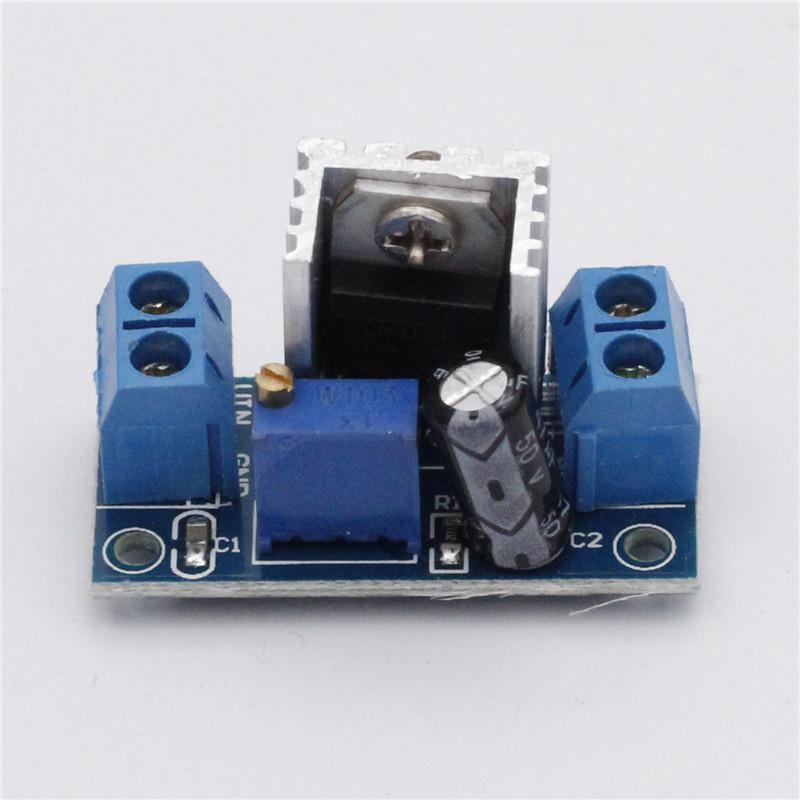 5pcs LM317 DC-DC Buck Converter Step Down Power Module Adjustable Linear Regulator(China (Mainland))