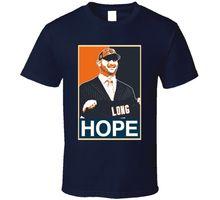O Neck Tee Shirt Short Sleeve Hope Footballer Chicago Kyle Long T Shirt Short Sleeves Cotton T-Shirt(China (Mainland))