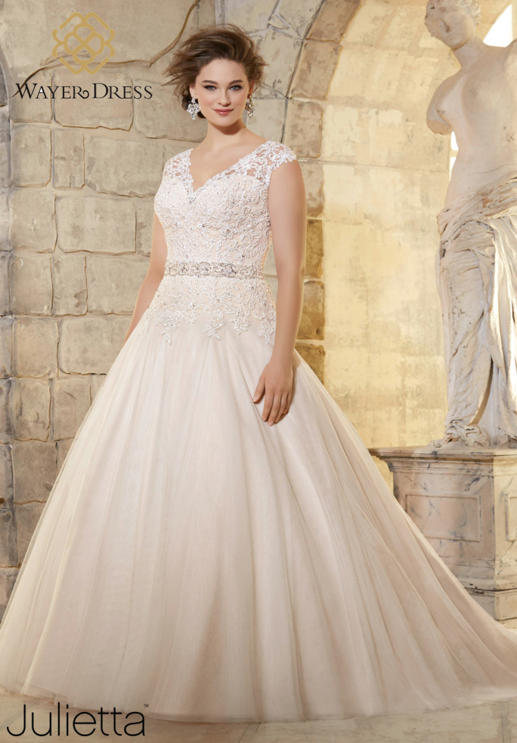 Buy 2016 plus size wedding dresses lace for Lace wedding dresses plus size