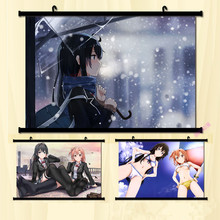 (60x85cm)My youth Love Story Anime Canvas Wall Art Picture Home Decor Room Print Painting Cartoon Canvas Art