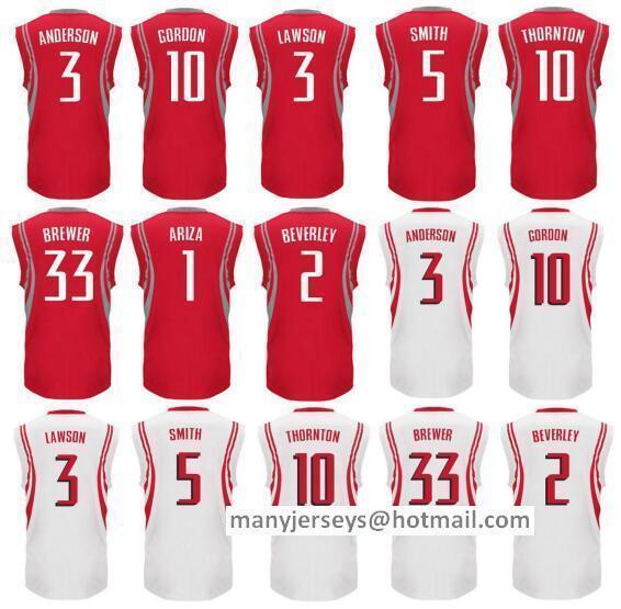 2016 Printed 3 Ty Lawson Jersey 5 Josh Smith 33 Corey Brewer 10 Eric Gordon 3 Ryan Anderson 1 Trevor Ariza 2 Patrick Beverley(China (Mainland))