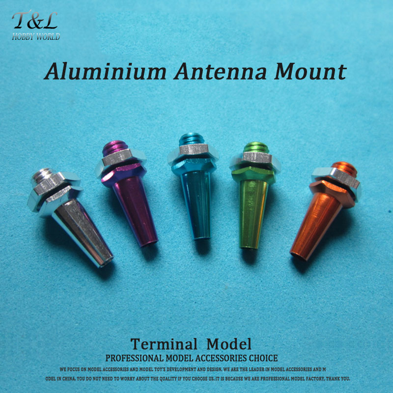5 Color Available Aluminium Antenna Mount M6 L23mm Suit For RC Boat(China (Mainland))
