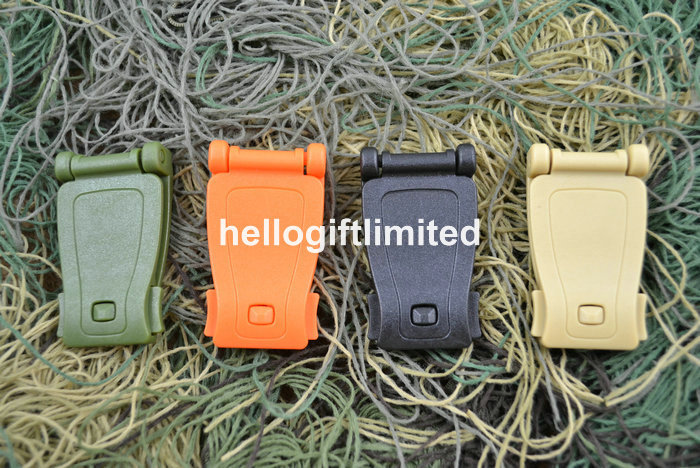 30pcs Mixed Color Molle Buckle for Molle Gear Backpack Bags Pouch Outdoor Shop Business Promotion GIft(China (Mainland))