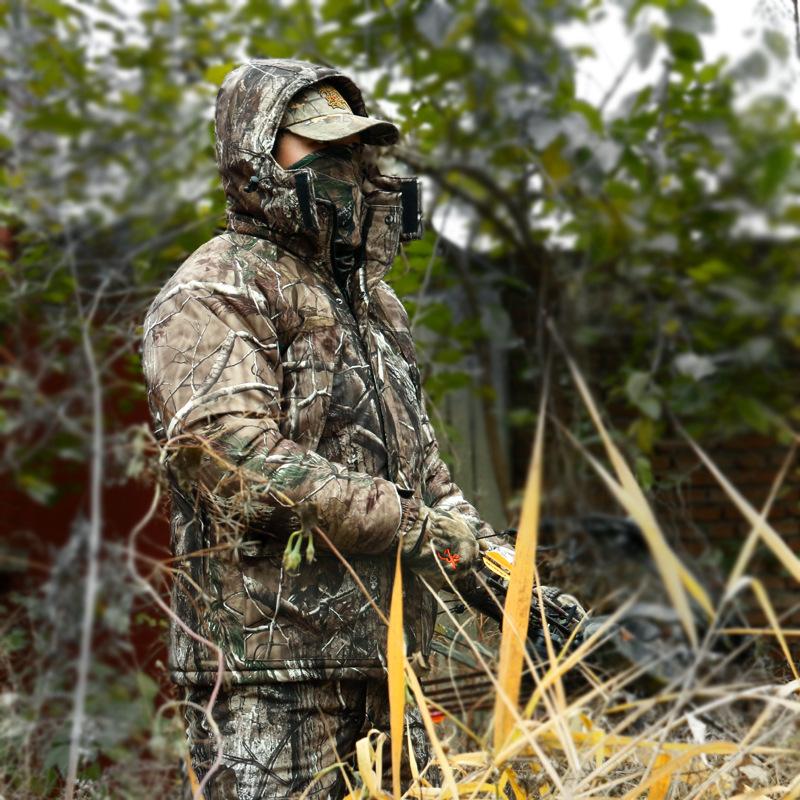Охотничьи Маскировочные Зимние Костюмы