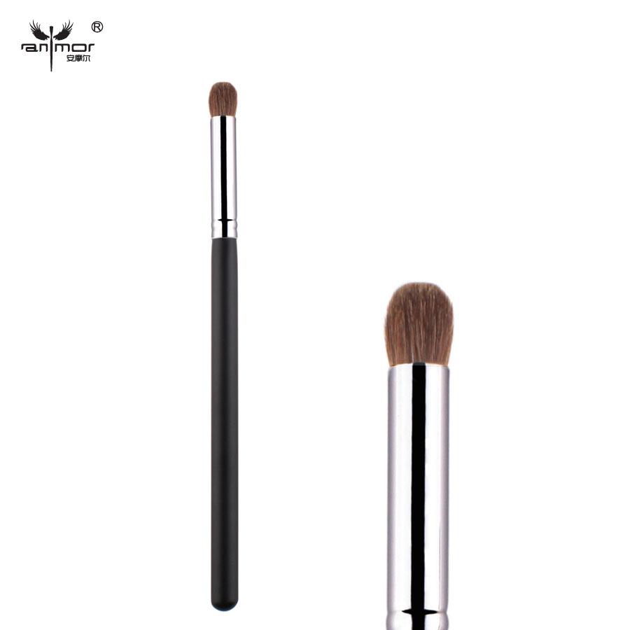 2015 New Pony Hair Copper Ferrule Makeup Brushes Supple Eye Shadow Brush Professional Condensed Eyeshadow Brush(China (Mainland))