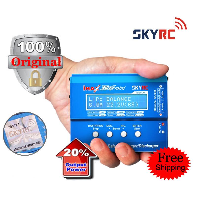 Original SKYRC iMAX B6 Mini Professional Balance Charger / Discharger for RC Battery Charging(China (Mainland))