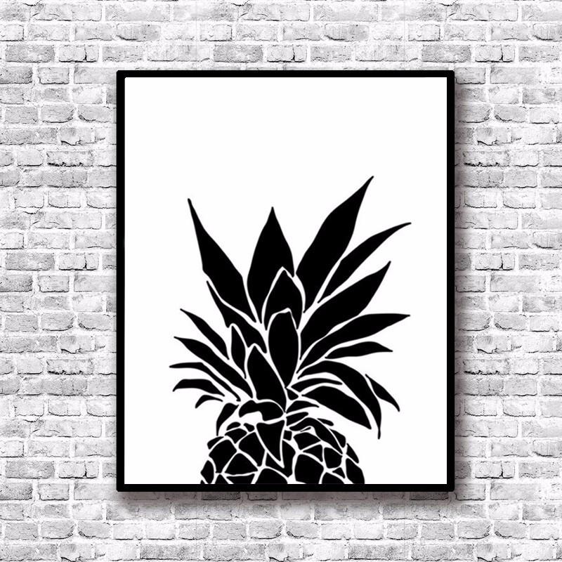 Affiches en noir blanc promotion achetez des affiches en for Art minimaliste citation