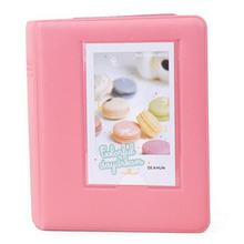 Mini Photo Album 64 Slots Fujifilm Instax Film 8 7s 25 50s 90 Camera-coral pink - City of Angels 0501 store