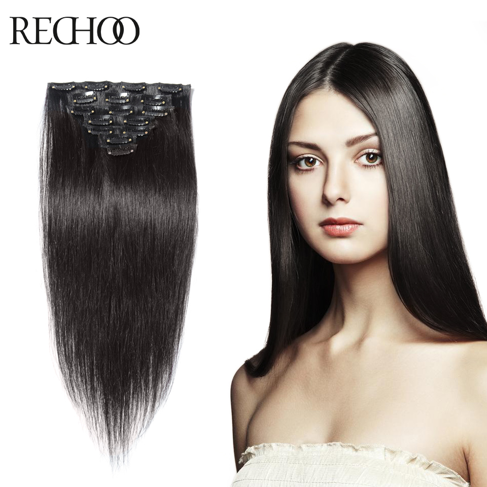 Premium Human Hair Clip In Extensions - Remy Indian Hair