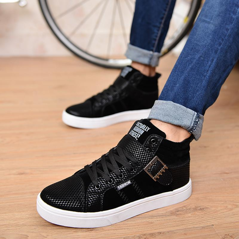 high top winter nubuck slip resistant cotton padded